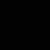 KARWEI kleurstaal aluminium horizontale jaloezie glans zwart 25 mm (11388)