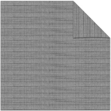 vtwonen kleurstaal lichtdoorlatend plisségordijn linnen grijs (38051)