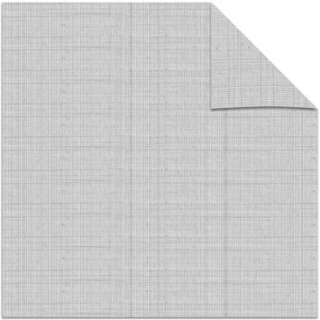 vtwonen kleurstaal lichtdoorlatend plisségordijn linnen warmgrijs (38054)