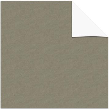 vtwonen kleurstaal verduisterend plisségordijn donkerbeige (38056)