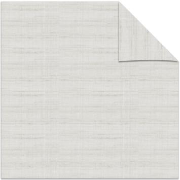 KARWEI kleurstaal lichtdoorlatend plisségordijn linnen wit (11130)