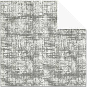 KARWEI kleurstaal lichtdoorlatend plisségordijn lichtgrijs (11307)