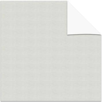KARWEI kleurstaal verduisterend plisségordijn helder wit (11309)
