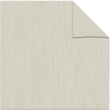 vtwonen kleurstaal lichtdoorlatend rolgordijn beige (33122)
