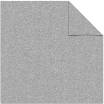 vtwonen kleurstaal lichtdoorlatend rolgordijn breeze light grey (33131)