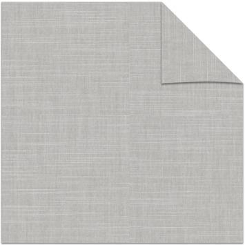 KARWEI kleurstaal lichtdoorlatend rolgordijn grijs (14235)