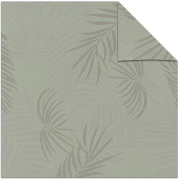 KARWEI kleurstaal lichtdoorlatend rolgordijn blad lentegroen (14319)