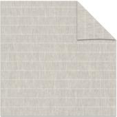 KARWEI kleurstaal lichtdoorlatend rolgordijn Streep zand (3628)