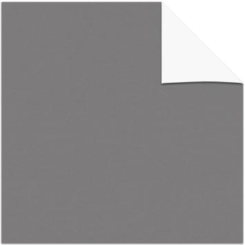 KARWEI kleurstaal verduisterend rolgordijn donker grijs (7034)