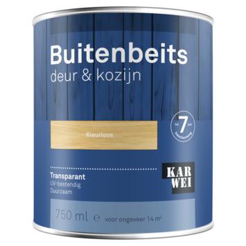 KARWEI buitenbeits deur & kozijn transparant kleurloos 750 ml