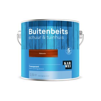 KARWEI buitenbeits schuur & tuinhuis transparant mahonie 2,5 liter