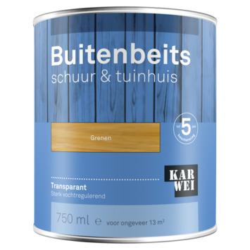 KARWEI buitenbeits schuur & tuinhuis transparant grenen 750 ml