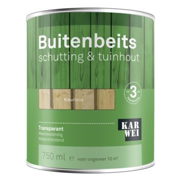 KARWEI buitenbeits schutting & tuinhout transparant kleurloos 750 ml