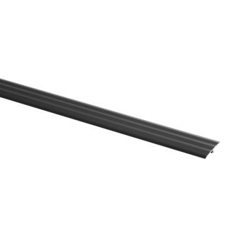 Overgangsprofiel zelfklevend 34MM 93CM Zwart
