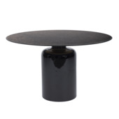 Salontafel Khloe zwart antiek