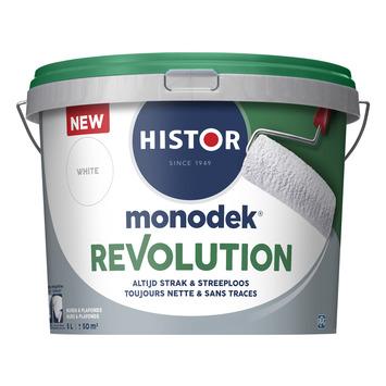 Histor Monodek Revolution latex wit 5 liter