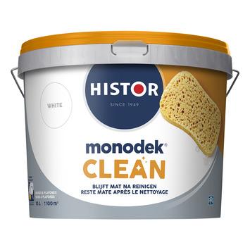 Histor Monodek Clean muurverf mat wit 10 l