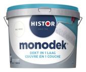 Histor Monodek latex RAL9010 gebroken wit 10L