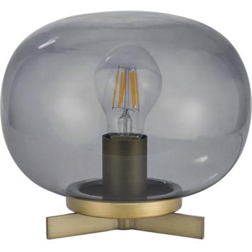KARWEI tafellamp Amee rookglas