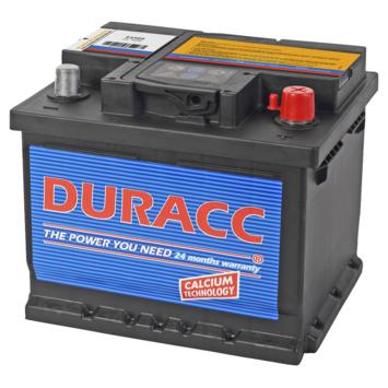 Duracc startaccu 12V 44ah 54465