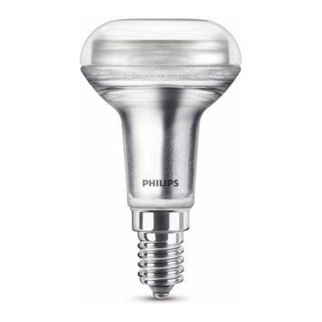 Philips LED reflector E14 60W dimbaar