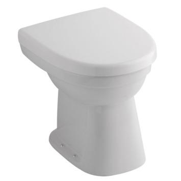 Sphinx 300 Basic toiletpot met vloerafvoer (AO) wit