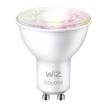 WiZ Connected LED spot GU10 50W kleur licht dimbaar