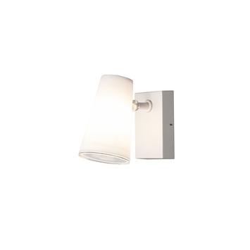 Konstsmide buitenlamp Fano opaal glas