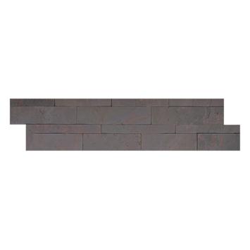 Wandbekleding natuursteen fineer Multi colour Z-vorm tegel (ca. 0,45 m²)