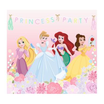Fotobehang prinsessen feest (dessin 111386)
