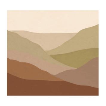 Fotobehang landschap (dessin 112113)