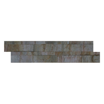 Wandbekleding natuursteen fineer Forest Z-vorm tegel (ca. 0,45 m²)