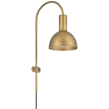 KARWEI wandlamp Oscar messing