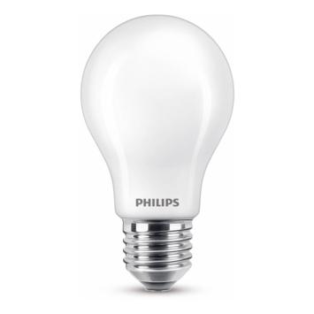 Philips LED peer E27 60W mat niet dimbaar