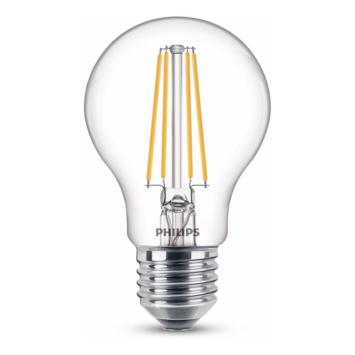 Philips LED peer E27 60W filament helder niet dimbaar
