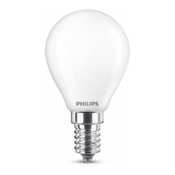 Philips LED kogel E14 40W mat niet dimbaar