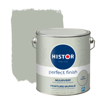 Histor Perfect Finish muurverf mat Gull Feather 2,5 liter