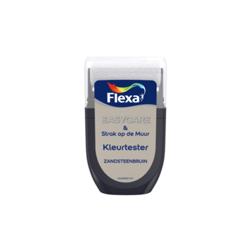 Flexa Strak op de muur Kleurtester Zandsteenbruin mat 30ml