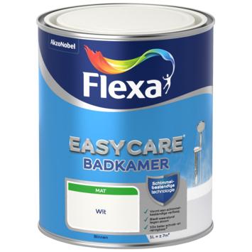 Flexa EasyCare muurverf badkamer wit mat 1 liter