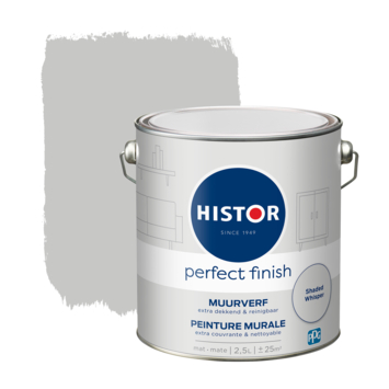 Histor Perfect Finish muurverf mat Shaded Whisper 2,5 liter