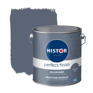 Histor Perfect Finish muurverf mat Sheffield Grey 2,5 liter