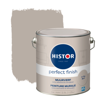 Histor Perfect Finish muurverf mat In the Buff 2,5 liter