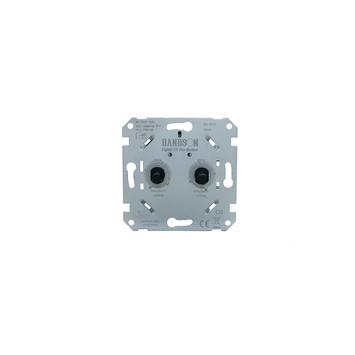 KARWEI inbouw duodimmer LED/SPAAR universeel