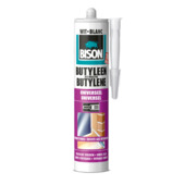 Bison butyleenkit wit koker 300 ml