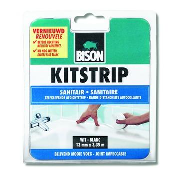 Bison kitstrip sanitair wit blister  22 mm x 3,35 m