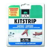 Bison kitstrip sanitair wit blister  22 mm x 3,35 m