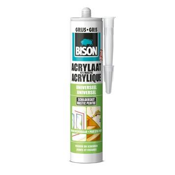Bison acrylaatkit universeel grijs koker 300 ml