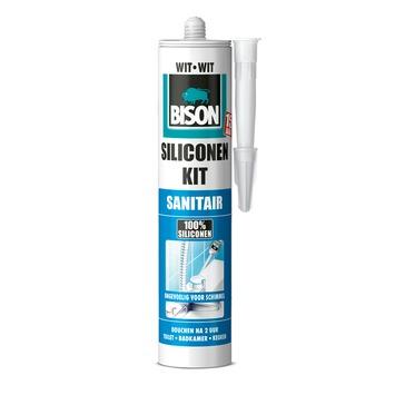 Bison siliconenkit wit koker 300 ml