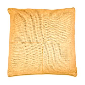 Kussen Avery 45x45 cm honinggeel