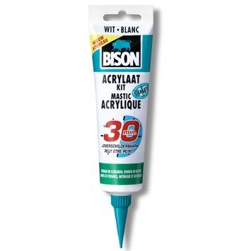 Bison acrylaatkit snel 30 minuten wit hangtube 150 ml